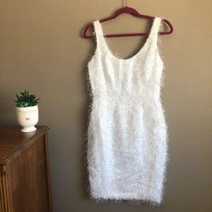 Vintage mini fringe dress